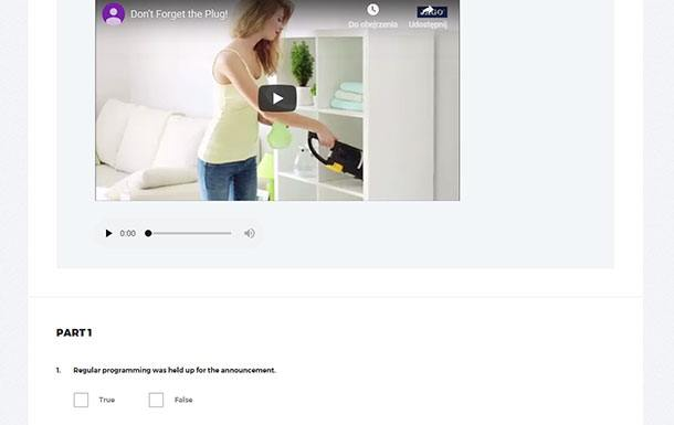 Video tasks